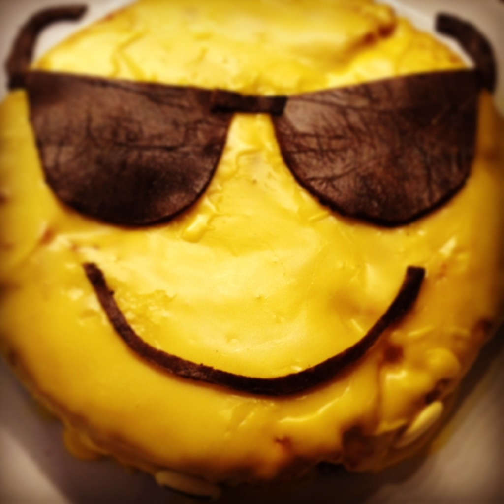 Smiley Kuchen